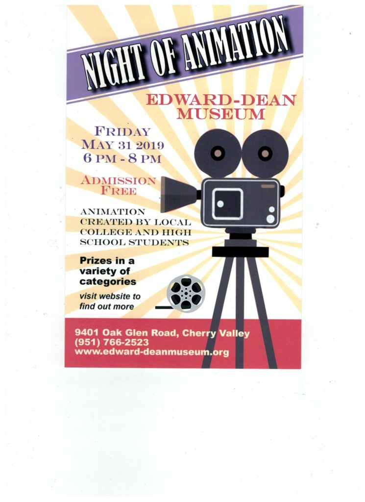 """NIGHT OF ANIMATION"" @ Edward-Dean Museum & Gardens 