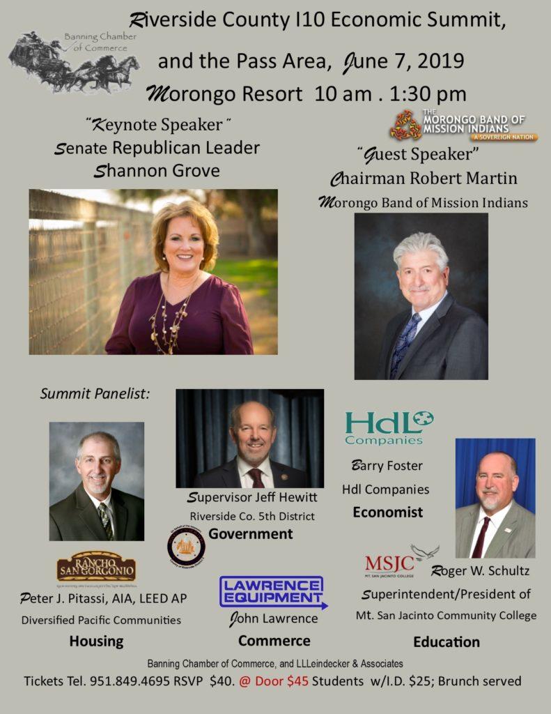 Riverside County Economic Summit @ Morongo Resort | Cabazon | California | United States