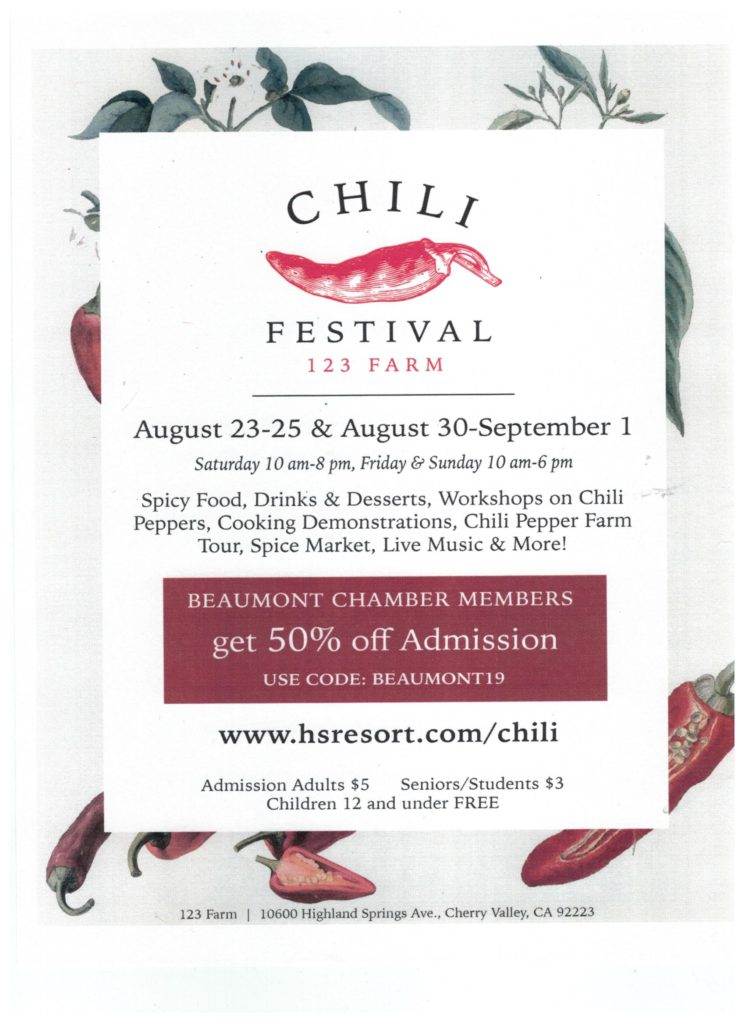 Chili Festival @ 123 Farm | Cherry Valley | California | United States