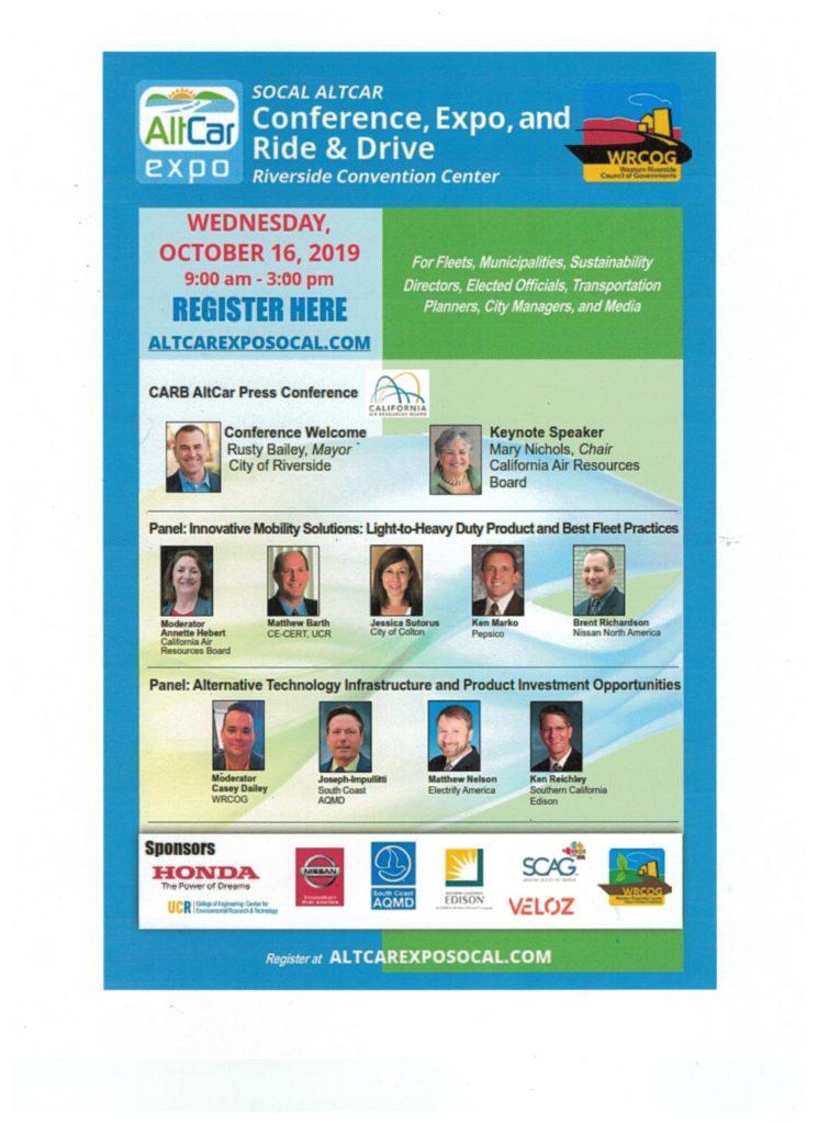 SOCAL Altcar Conference @ Riverside Convention Center | Riverside | California | United States