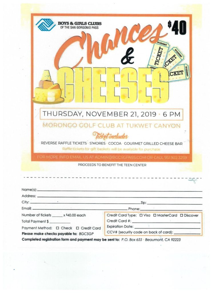 Chances & Cheeses @ Morongo Golf Club at Tukwet Canyon | Beaumont | California | United States