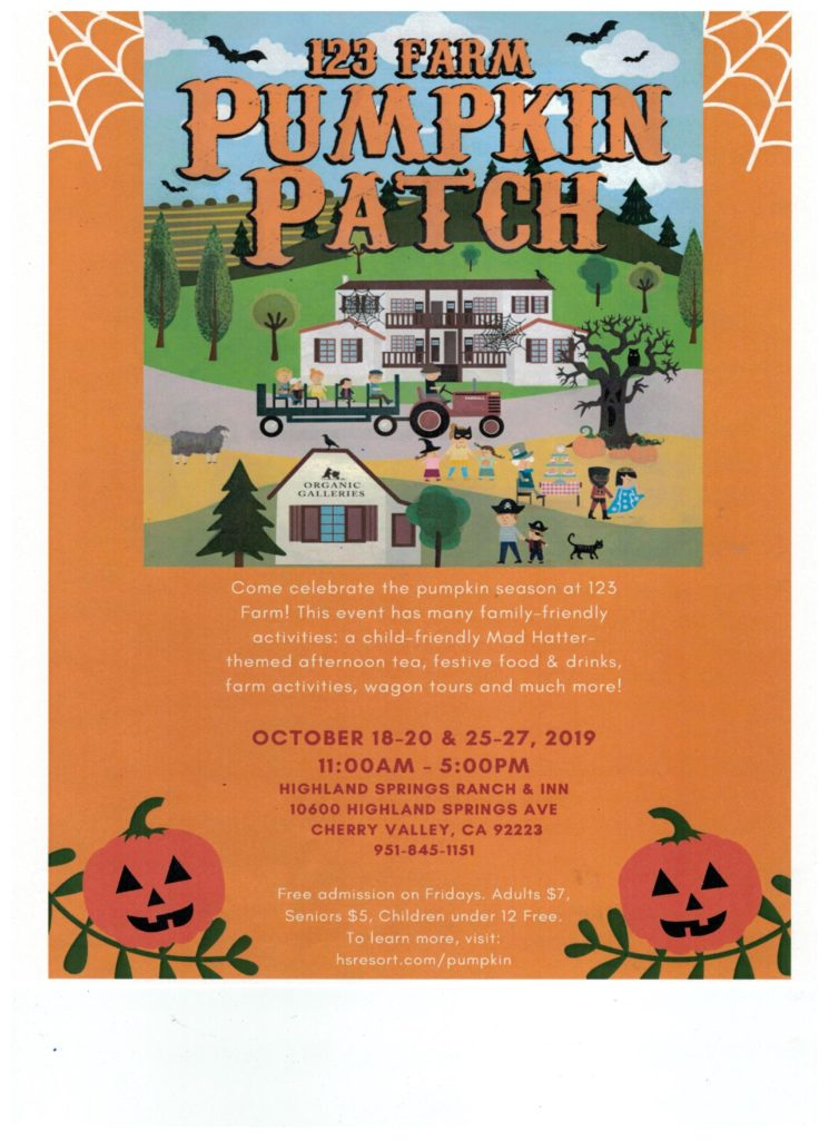 123 Farm Pumpkin Patch @ Highland Springs Ranch and Inn | Cherry Valley | California | United States