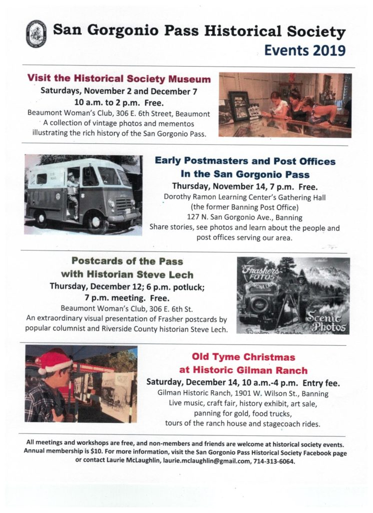 Old Tyme Christmas at Gilman Ranch @ Gilman Historic Ranch | Banning | California | United States