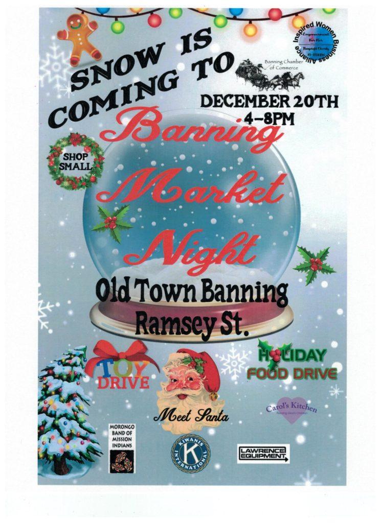Banning Market Night @ Old Town Banning | Banning | California | United States
