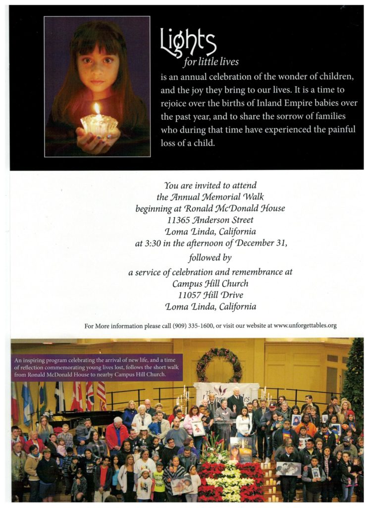 Lights for Little Lives @ Ronald McDonald House | Loma Linda | California | United States