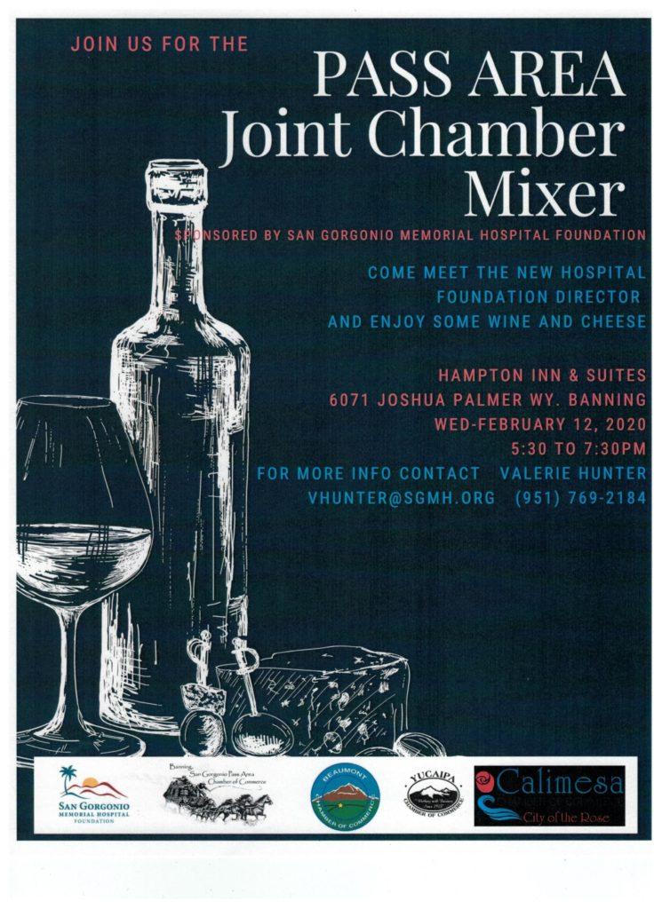 Pass Area Joint Chamber Mixer @ Hampton Inn & Suites | Banning | California | United States