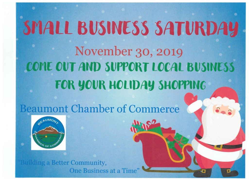 Small Business Saturday @ Beaumont, CA | Beaumont | California | United States