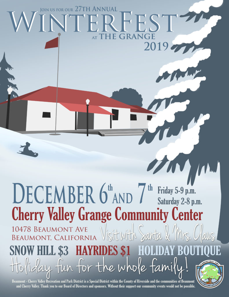 Winterfest at the Grange @ Cherry Valley Grange Community Center | Cherry Valley | California | United States