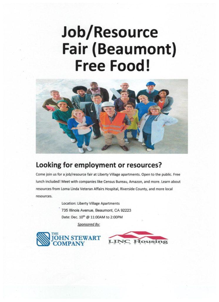 Job/ Resource Fair @ Liberty Village Apartments | Beaumont | California | United States