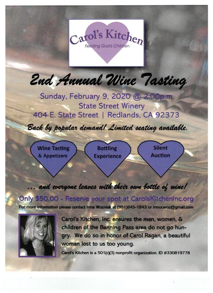 Wine Tasting @ State Street Winery | Redlands | California | United States