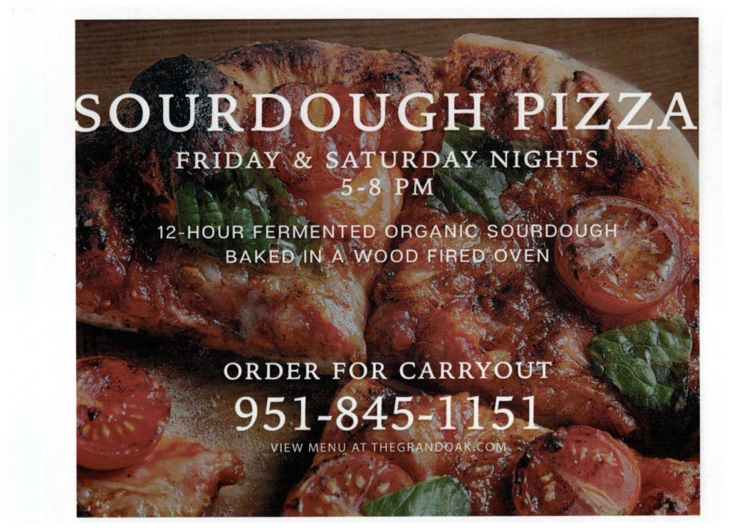 PIZZA TONIGHT! @ The Grand Oak