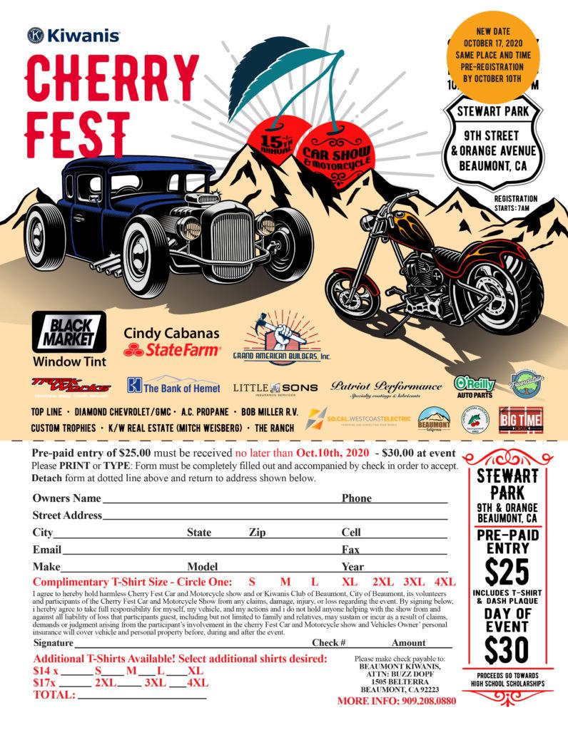 Cherry Fest @ Stewart Park | Beaumont | California | United States