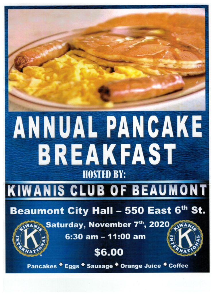 Pancake Breakfast @ Beaumont City Hall | Beaumont | California | United States