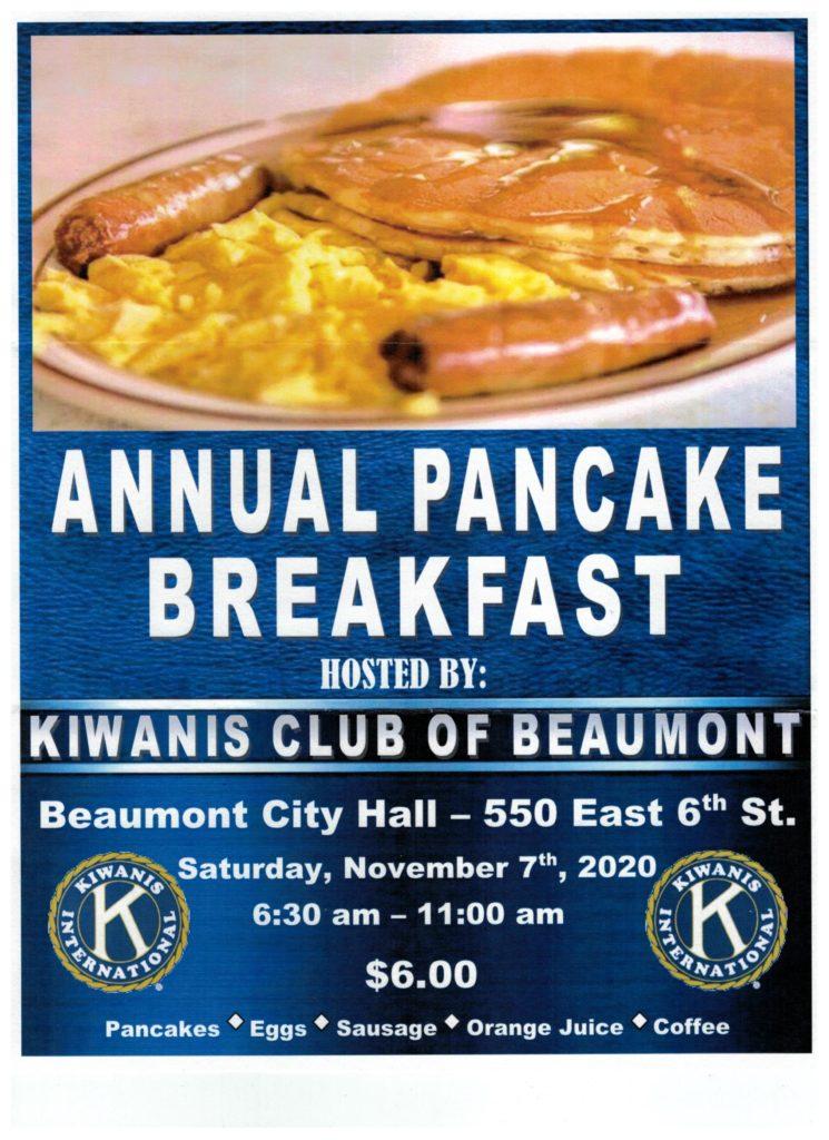 Pancake Breakfast @ Beaumont City Hall | Beaumont | California | United States