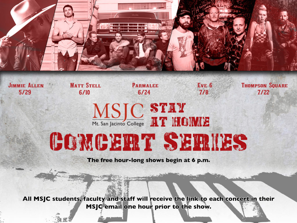 MSJC Stay at Home Concert