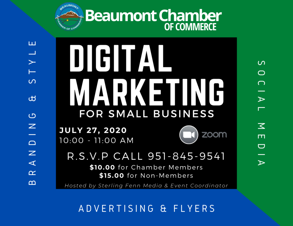 DIGITAL MARKETING FOR SMALL BUSINESS @ ZOOM MEETING