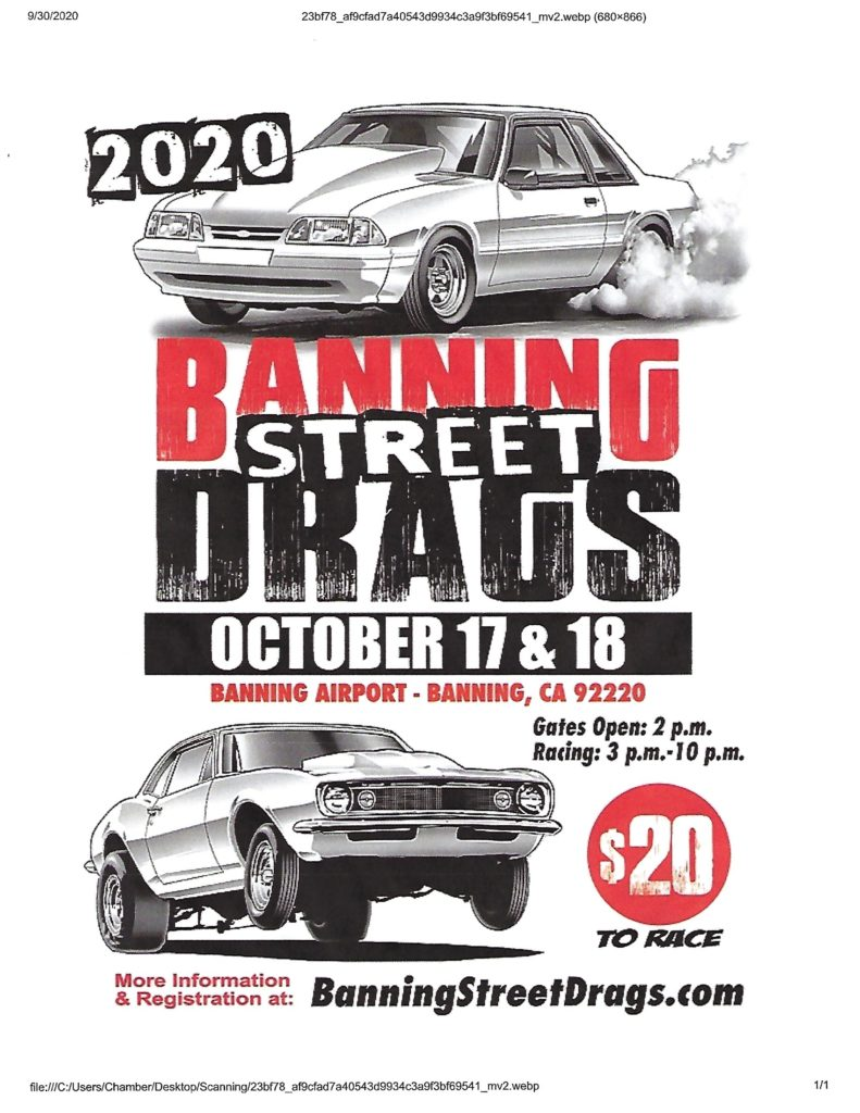 Banning Street Drags @ Banning Airport | Banning | California | United States