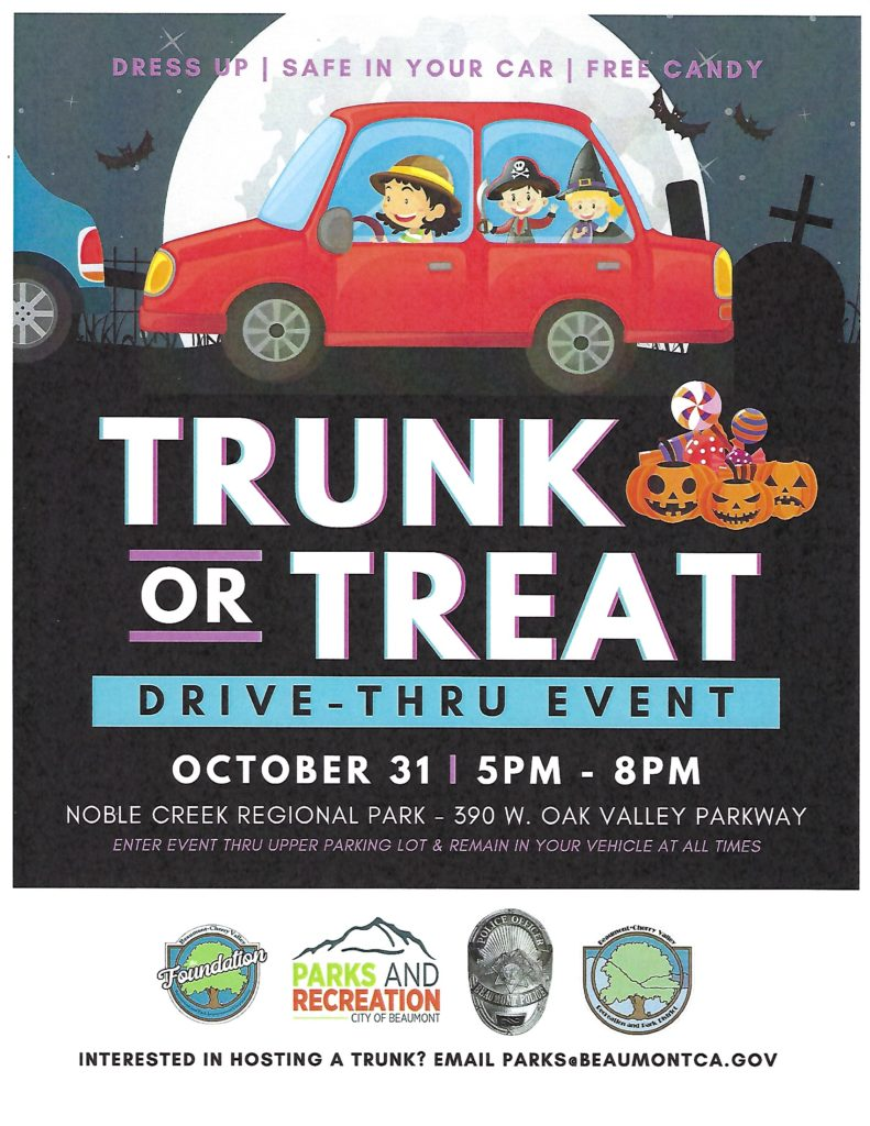 Trunk or Treat @ Noble Creek Regional Park | Beaumont | California | United States