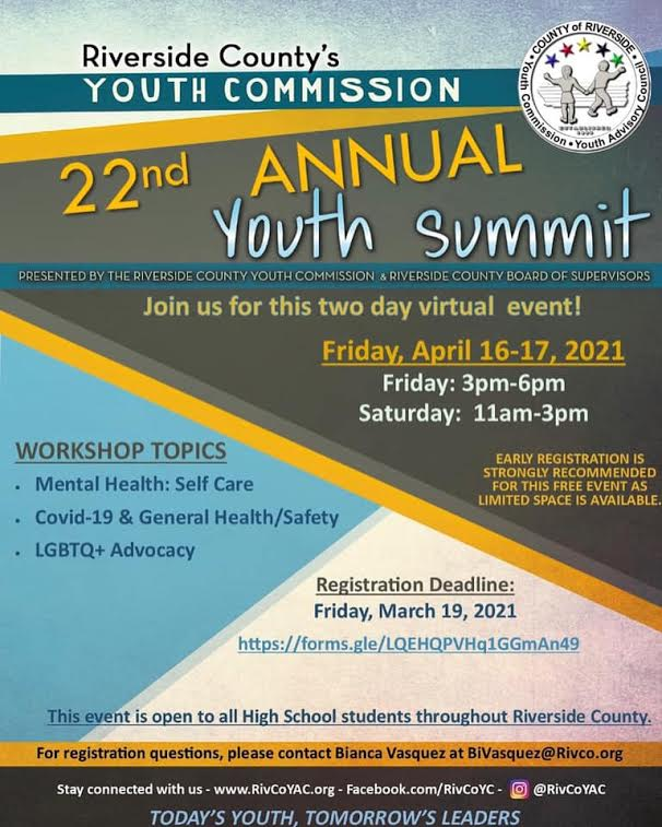 Youth Summit @ Virtual | California | United States