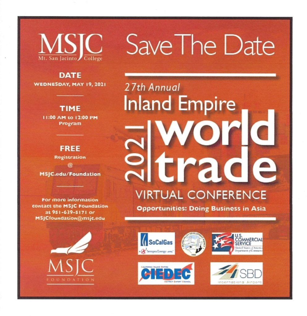 World Trade Conference @ Online | Beaumont | California | United States