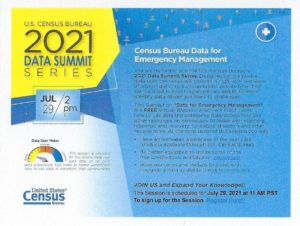 Census Data Summits @ Online