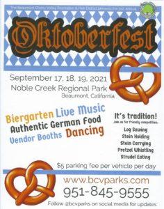 Oktoberfest @ Noble Creak Regional Park | Beaumont | California | United States