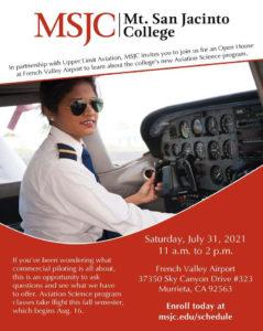 MSJC's new Aviation Science program. @ French Valley Airport | Murrieta | California | United States