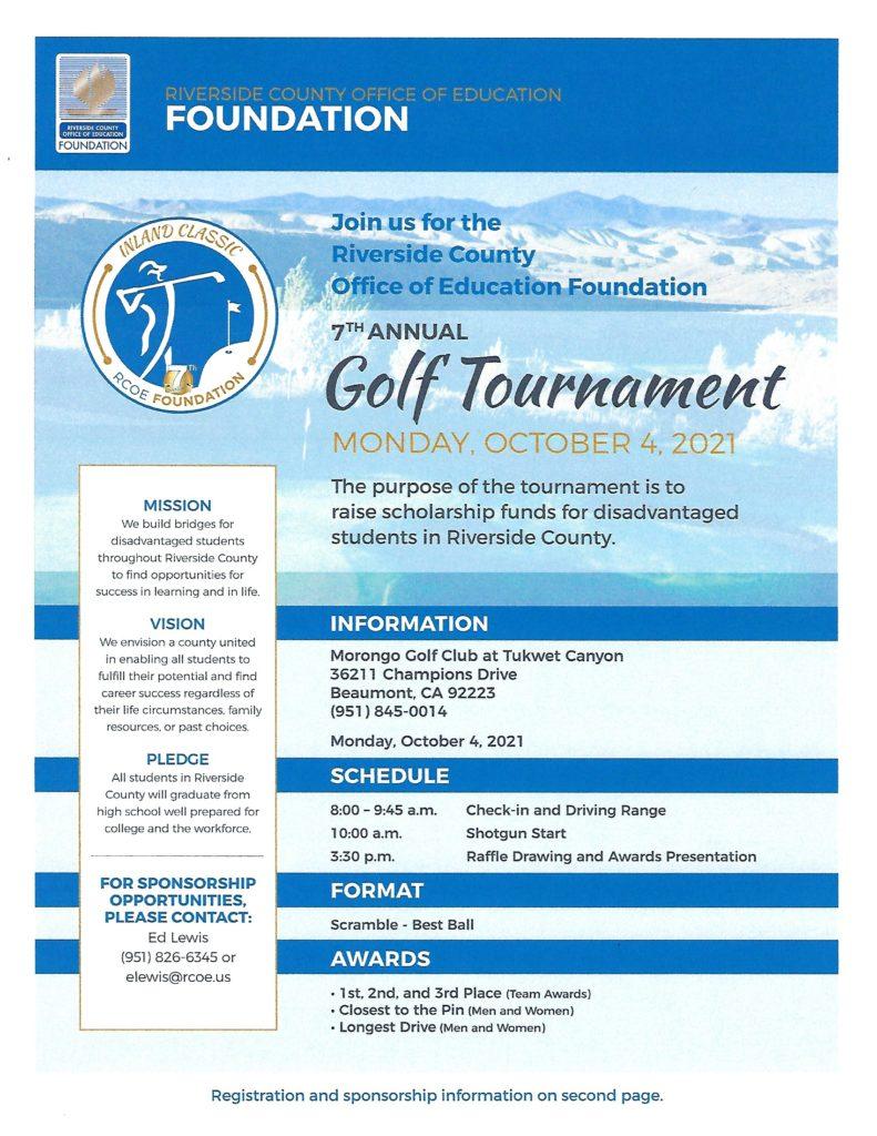 Golf Tournament @ Morongo Golf Club @ Tukwet Canyon | Beaumont | California | United States