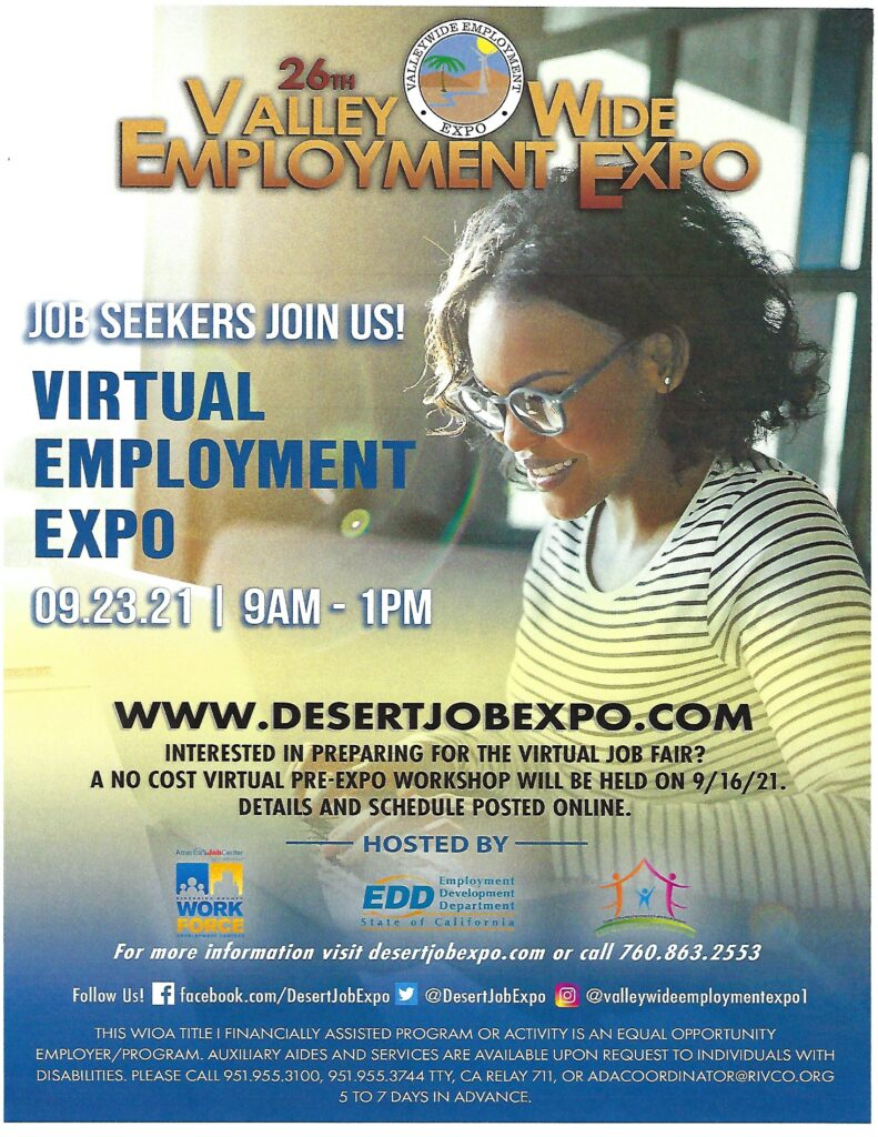 Employment Expo @ Online | Beaumont | California | United States
