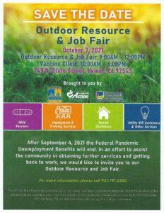 Outdoor Resource & Job Fair @ Outdoor Resource & Job Fair | Hemet | California | United States