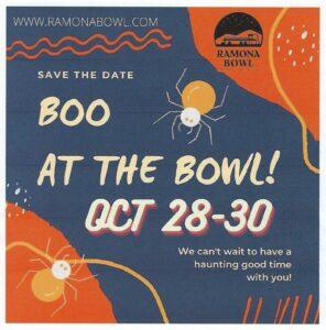 Ramona Bowl Boo at the Bowl @ Ramona Bowl Amphitheater | Hemet | California | United States