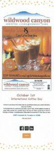 Wildwood Canyon is having a Cozy Coffee Drive-Thru!! @ Wildwood Canyon | Yucaipa | California | United States