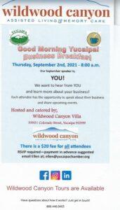 Good Morning Yucaipa Business Breakfast! @ Wildwood Canyon | Yucaipa | California | United States