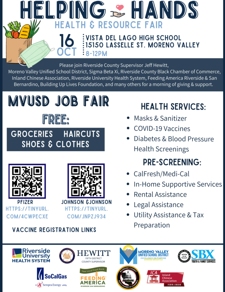 Health & Resource Fair @ Vista Del Lago High School   Moreno Valley   California   United States