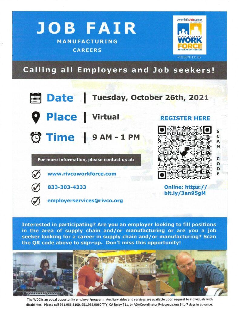 Job Fair @ Virtual