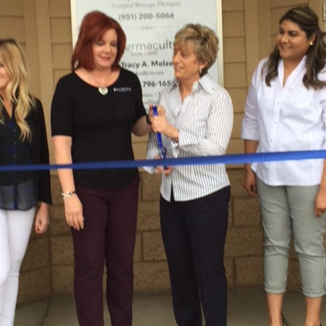 HEALING HANDS CHIROPRACTIC & DERMACULTURE SKIN CARE RIBBON CUTTING
