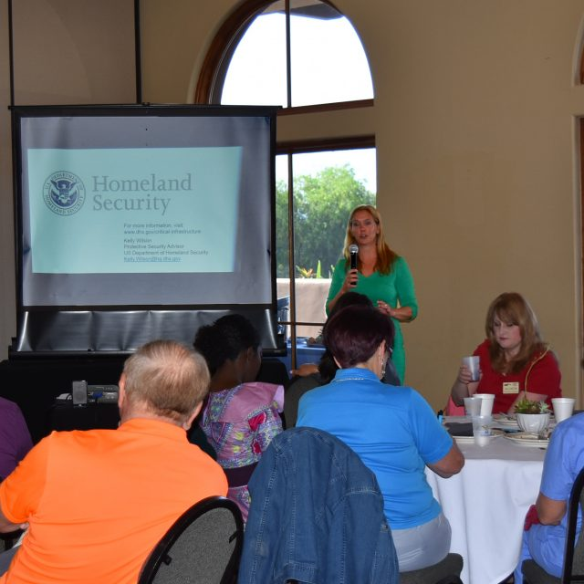 June Good Morning Breakfast with Kelly Wilson from Homeland Securits