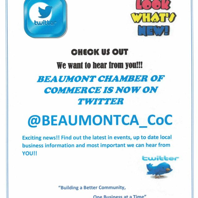 JOIN US ON TWITTER!