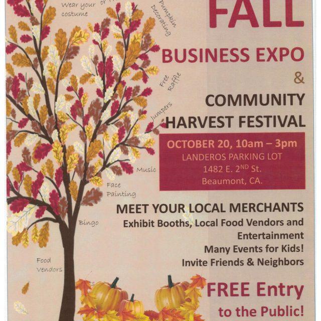 FALL BUSINESS EXPO & COMMUNITY HARVEST FESTIVAL