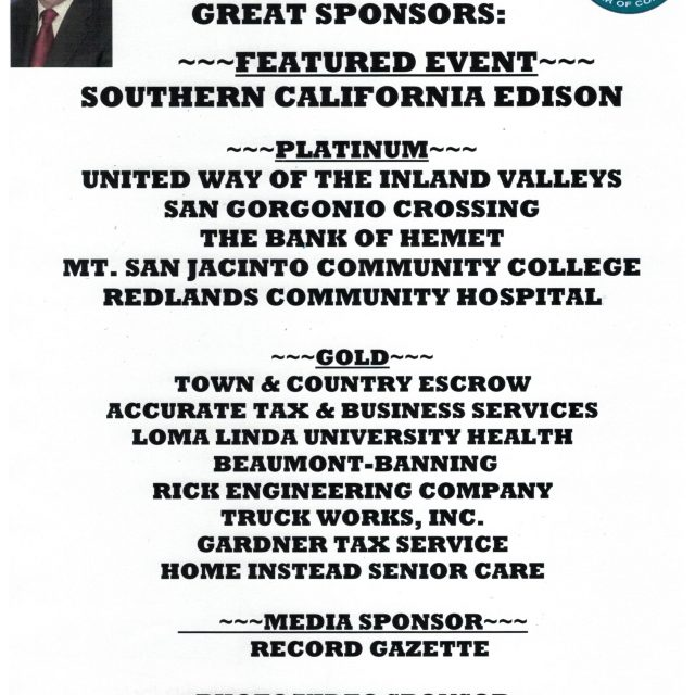 THANK YOU TO OUR ECONOMIC FORECAST SPONSORS!