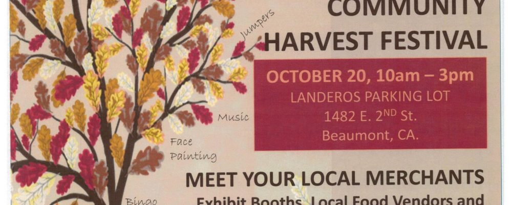 FALL BUSINESS EXPO & COMMUNITY HARVEST FESTIVAL