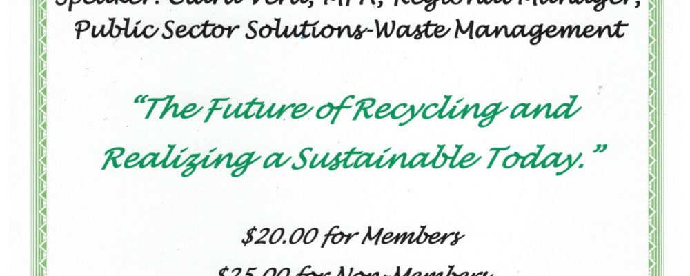 """Good Morning Beaumont – """"The Future of Recycling and realizing a Sustainable Today"""""""