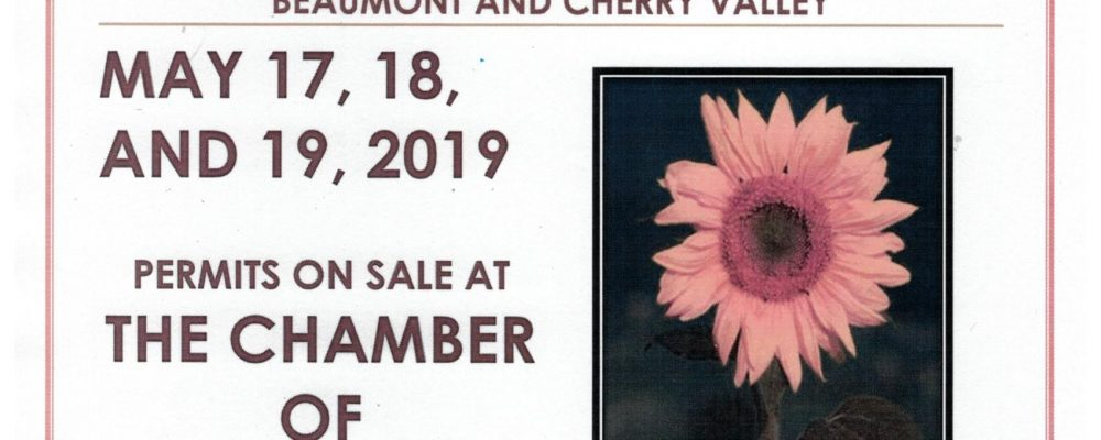 COMMUNITY WIDE YARD SALE!  MAY 17, 18, 19