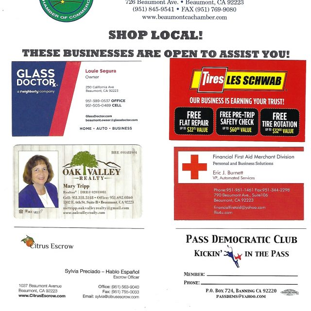 Shop Local! These Businesses are Here for You.