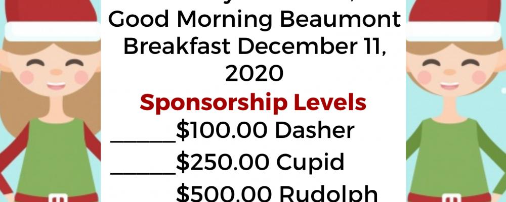 Sponsors Needed for ChildHelp Breakfast