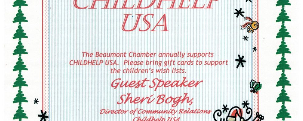 DECEMBER GOOD MORNING BEAUMONT SUPPORTING CHILDHELP USA