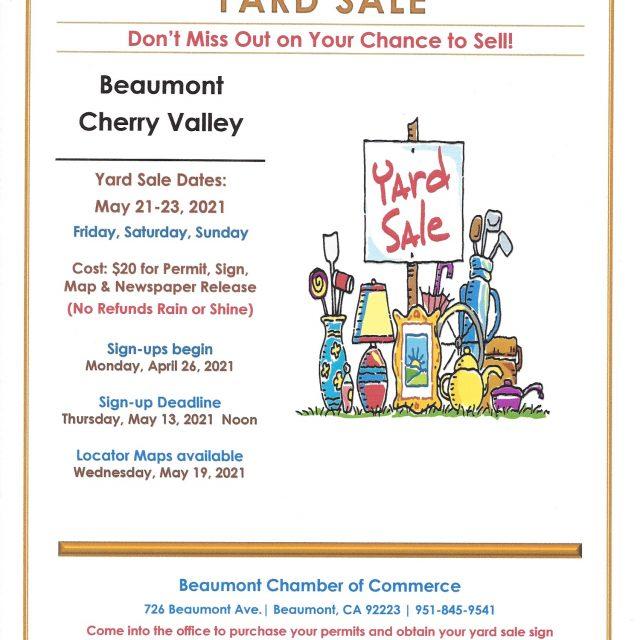 Community Wide Yard Sale