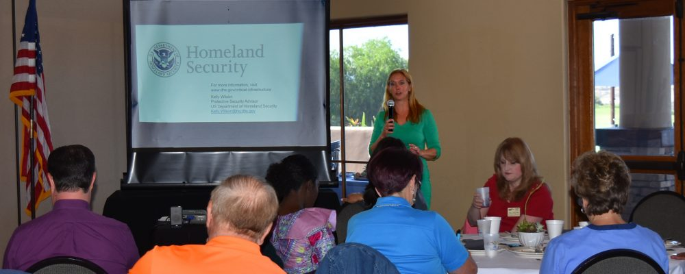 June Good Morning Breakfast with Kelly Wilson from Homeland Security