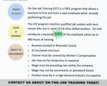 On-The-Job Training.