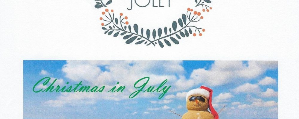 Christmas in July, Donation's open till July 19th.